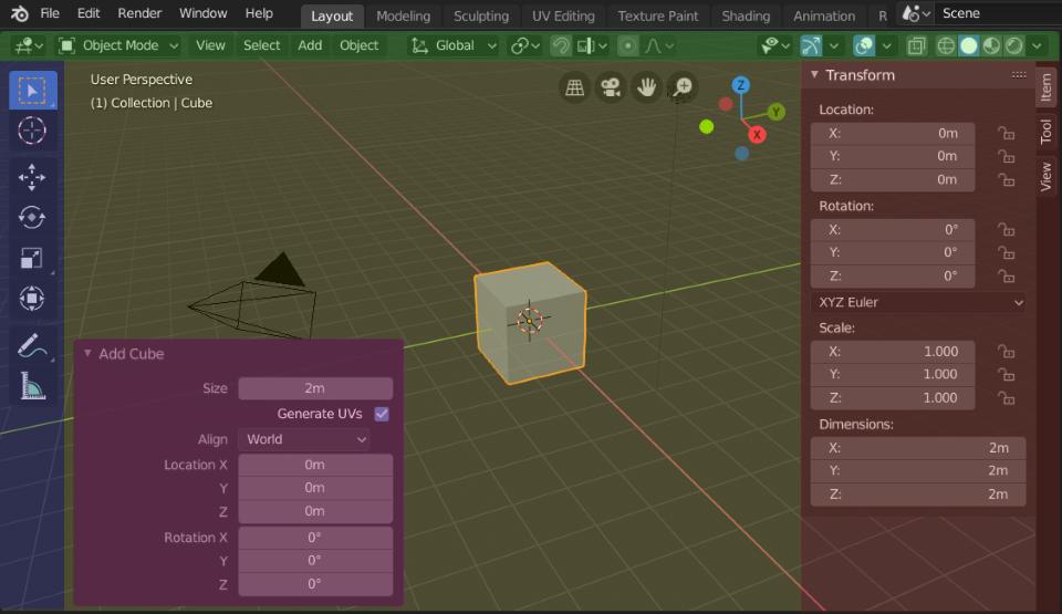 Blender UI - Regions
