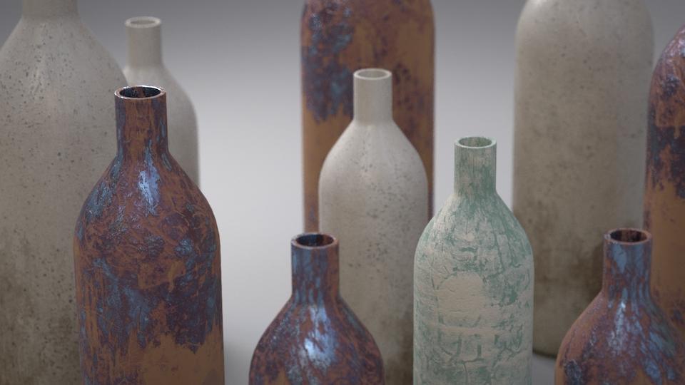 Raku Ceramics - Houdini